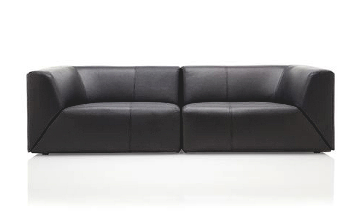 Sofa de cuero contemporaneo bs 4501 for Sofas contemporaneos
